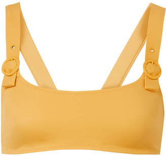 Solid & Striped The Evelyn Bikini Top - Mustard