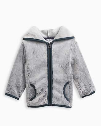 Splendid Baby Boy Fur Hoodie Jacket