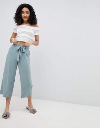 New Look Wide Leg Crop Culottes