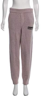 Alexander Wang Wool Marled Sweatpants