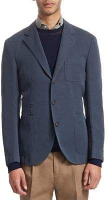 Brunello Cucinelli Wool Suit Jacket