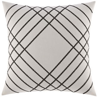Nautica Chatfield Embroidered Decorative Pillow 16in x 16in $55 thestylecure.com