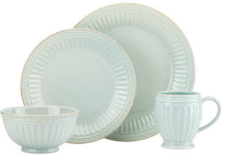 Lenox French Perle Groove 4 Piece Place Setting, Service for 1