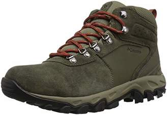 Columbia Men's Newton Ridge Plus II Suede Waterproof Wide Hiking Shoe