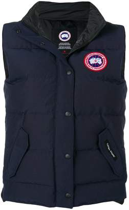Canada Goose button padded gilet