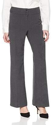 Briggs Women's Petite New York Flare Pant