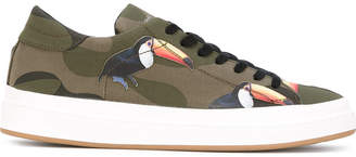 Philippe Model bird camouflage sneakers