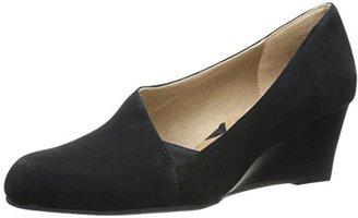 Adrienne Vittadini Footwear Women's Marcio Wedge Pump $99 thestylecure.com