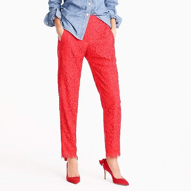 Tall Easy pant in lace