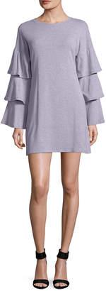 Allison Collection Tiered Sleeve Mini Dress