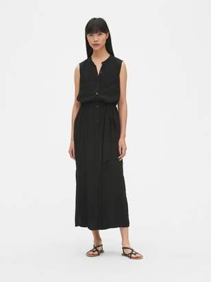 Gap Perfect Sleeveless Maxi Shirtdress