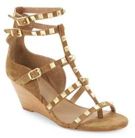 AshStudded T-Strap Sandals