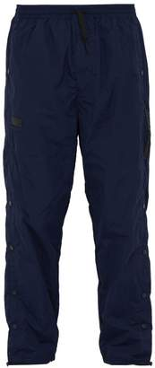 PAM Leap Man Snap Side Track Pants - Mens - Navy