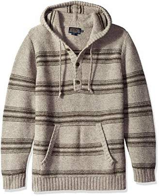 Pendleton Men's Alpaca Stripe Hoody Sweater