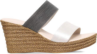 Carvela Comfort Sybil textured wedge sandals