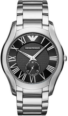 Emporio Armani Men Chronograph Stainless Steel Bracelet Watch 43mm