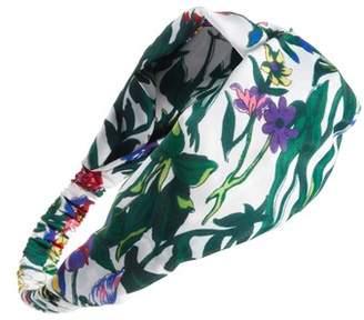 Cara Floral Garden Print Head Wrap