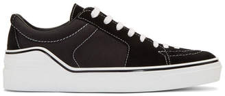Givenchy Black Suede George V Sneakers