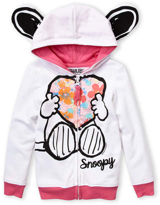 Freeze Kids (Toddler Girls) Snoopy Hoodie
