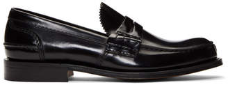 Church's Churchs Black Tunbridge Loafers