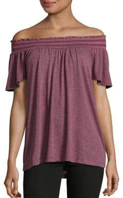 Lord & Taylor Petite Smocked Top