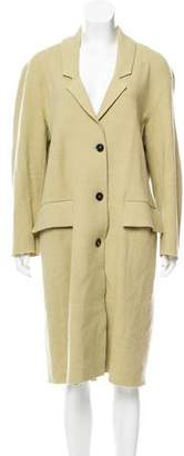 Burberry Long Virgin Wool Coat