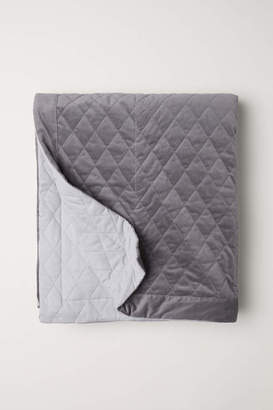 H&M Quilted Velvet Bedspread