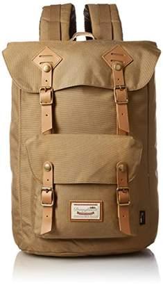 American Vintage (アメリカン ヴィンテージ) - [ドーナツ]Amazon公式 バックパック American Vintage Codura 8077C-0030-F123101) Camel Camel