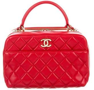 Chanel Trendy CC Bowling Bag Red Trendy CC Bowling Bag