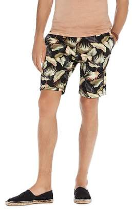 Scotch & Soda Floral Print Classic Chino Shorts