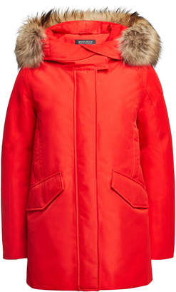 Woolrich GTX Arctic Down Parka with Fur-Trimmed Hood
