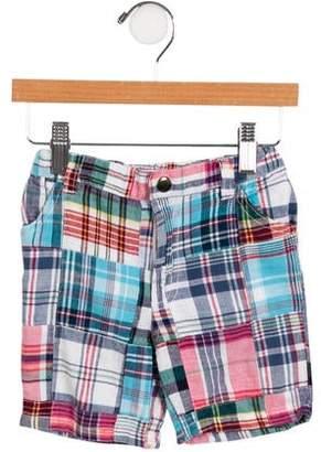 EGG Boys' Plaid Shorts