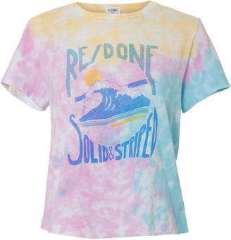 Solid & Striped Re/Done X Venice Tie-Dyed T-Shirt