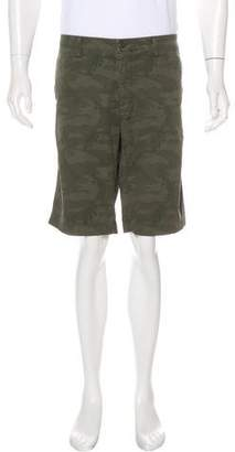 Mason Flat Front Camouflage Shorts w/ Tags