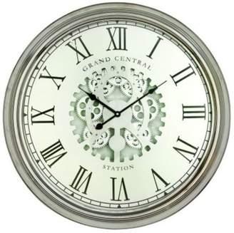 Brimfield & May Wren Metal Wall Clock
