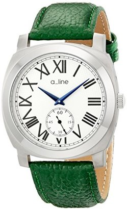 A Line A _ LINE Women 's al-80023 – 02-d-gn PyarアナログDisplay Japanese Quartz Green Watch