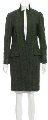 Zang Toi Fitted Wool Coat