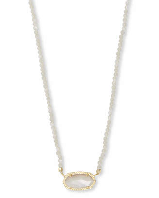 Kendra Scott Elisa Gold Beaded Pendant Necklace