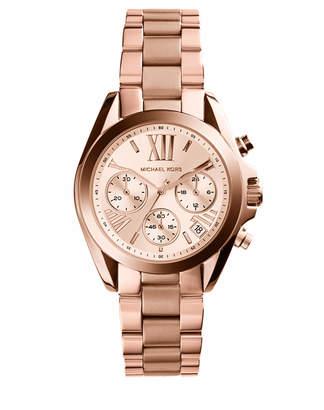 Michael Kors Bradshaw Rose Gold Watch MK5799