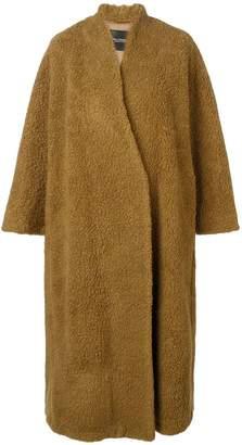 Cavallini Erika oversized fit coat