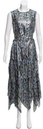 Maison Rabih Kayrouz Brocade Maxi Dress w/ Tags