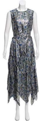 Maison Rabih Kayrouz Brocade Maxi Dress w/ Tags