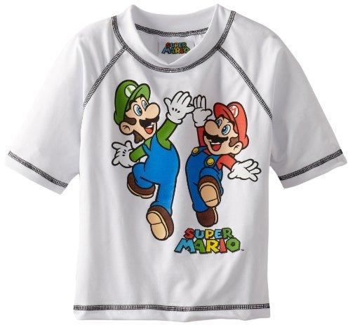 Nintendo Boys 2-7 Super Mario Rash Guard