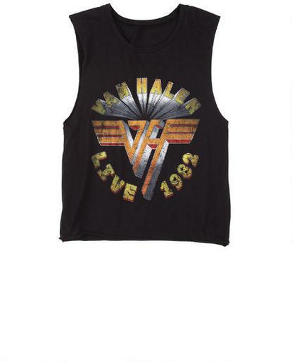 Delia's Van Halen Muscle Tank