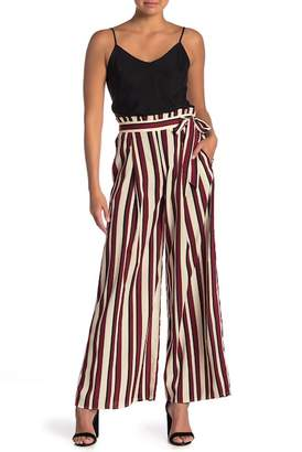 Jealous Tomato Striped Paperbag Waist Pants