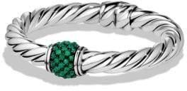 David Yurman Osetra Bracelet with Green Onyx