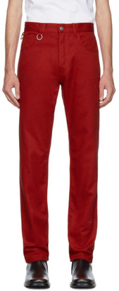 Raf Simons Red Two Ring Regular Fit Jeans