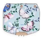 Furla MY PLAY Interchangeable Metropolis Mini Butterly Print Leather Flap