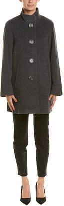 Cinzia Rocca Wool & Cashmere-Blend Coat