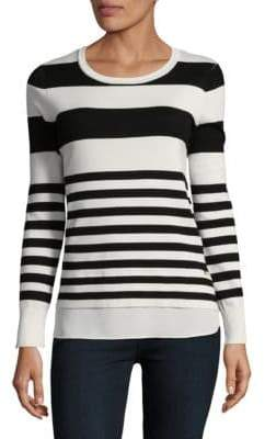 Calvin Klein Stripe Two-Fer Sweater